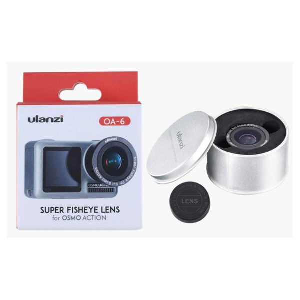 Ulanzi OA-6 Fisheye & Wide angle Lens for DJI Osmo Action (1488)