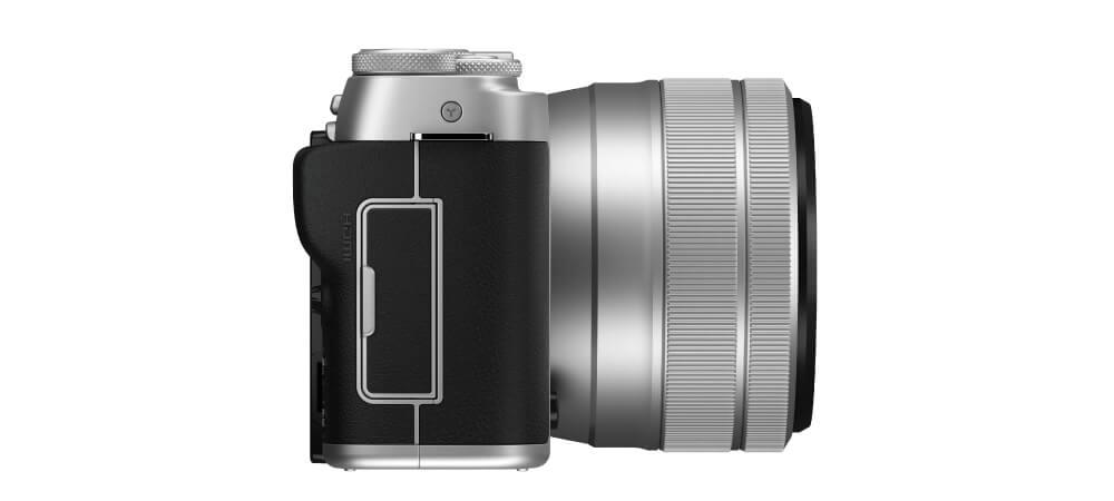 fujifilm xa7 silver zoomcamera 3