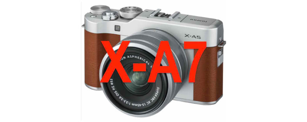 leak fujifilm x-a7