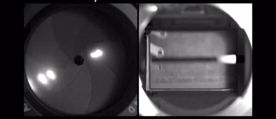 เกิดอะไรขึ้นเมื่อเรากดชัตเตอร์ ม่านชัตเตอร์และรูรับแสงทำงานอย่างไร