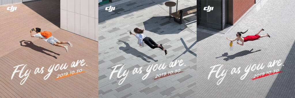 DJI Mavic Mini print ads