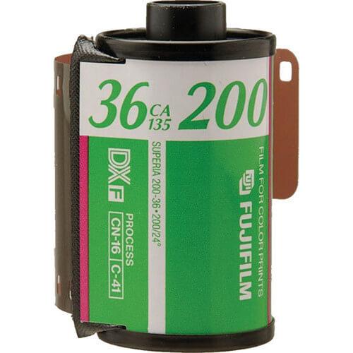 FUJIFILM Fujicolor 200 Color Negative Film 5