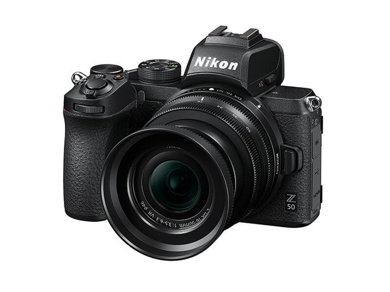 Nikon Z50 APS C mirrorless camera 6