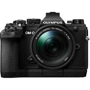 Olympus OM-D E-M5 Mark III Mirrorless Digital Camera with 14-150mm Lens Black