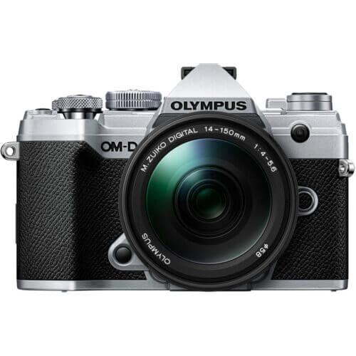 Olympus OM D E M5 Mark III Mirrorless Digital Camera with 14 150mm Lens Silver 1