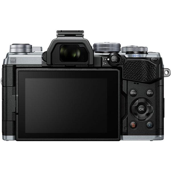 Olympus OM D E M5 Mark III Mirrorless Digital Camera with 14 150mm Lens Silver 2