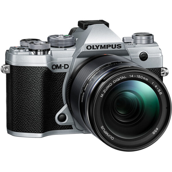 Olympus OM D E M5 Mark III Mirrorless Digital Camera with 14 150mm Lens Silver 3