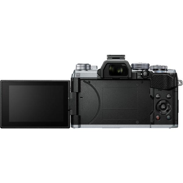 Olympus OM D E M5 Mark III Mirrorless Digital Camera with 14 150mm Lens Silver 4