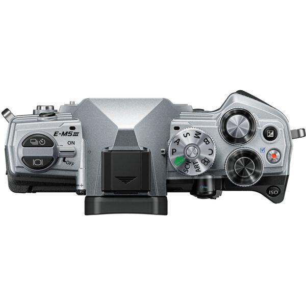 Olympus OM D E M5 Mark III Mirrorless Digital Camera with 14 150mm Lens Silver 5