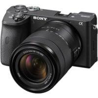 Sony Alpha a6600 Mirrorless Digital Camera with 18-135mm Lens