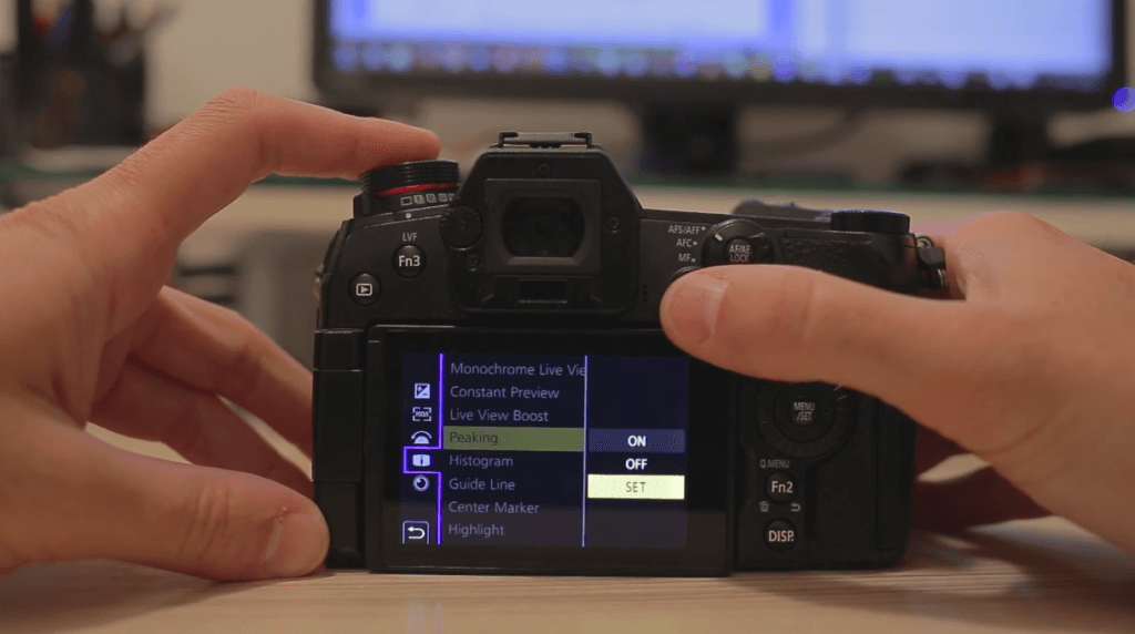 Focus Peaking Panasonic Lumix G9