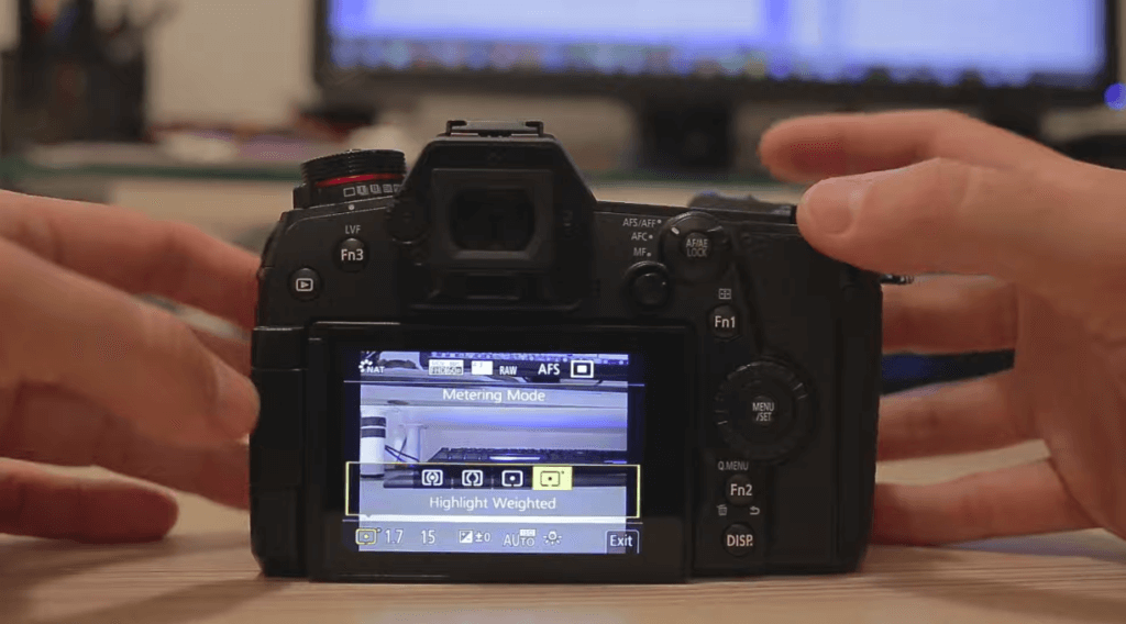 Highlight Weight Panasonic Lumix G9