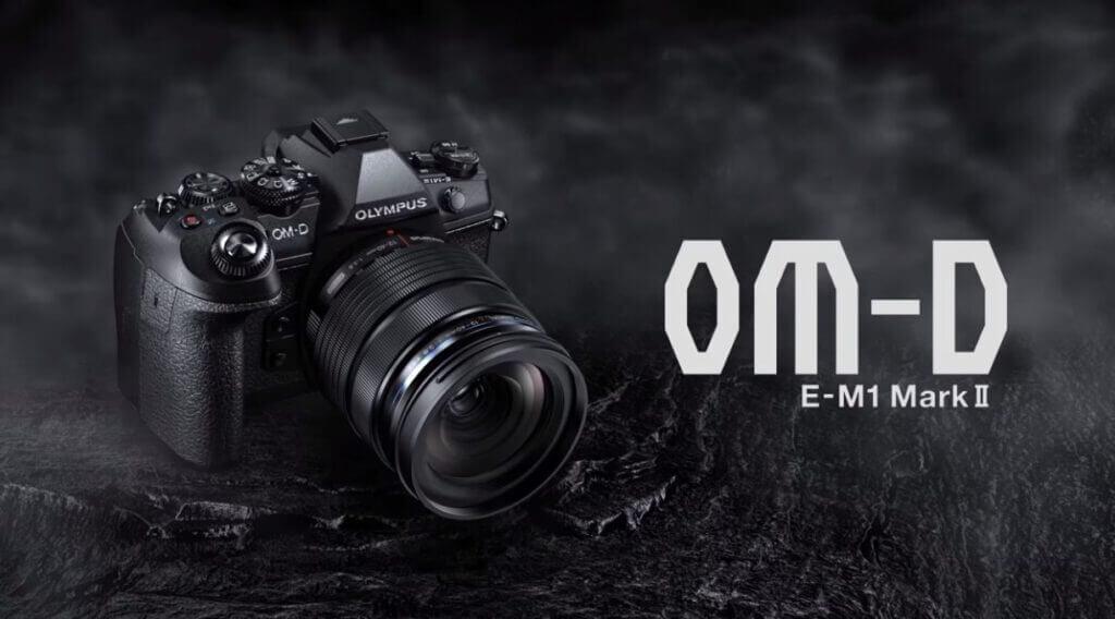 Olympus OM D E M1 Mark II cover black
