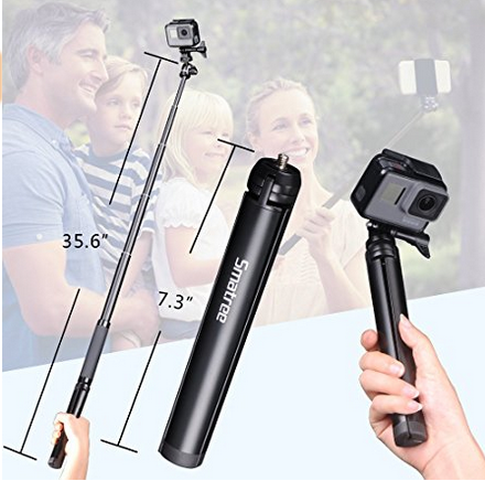 Smatree SQ2 SmaPole Telescoping Selfie 2