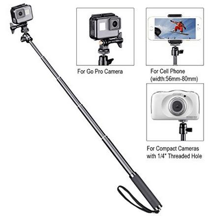 Smatree SQ2 SmaPole Telescoping Selfie 3