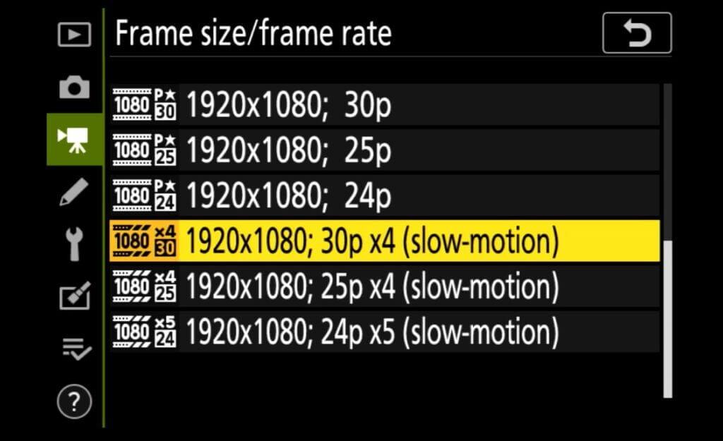 video slow
