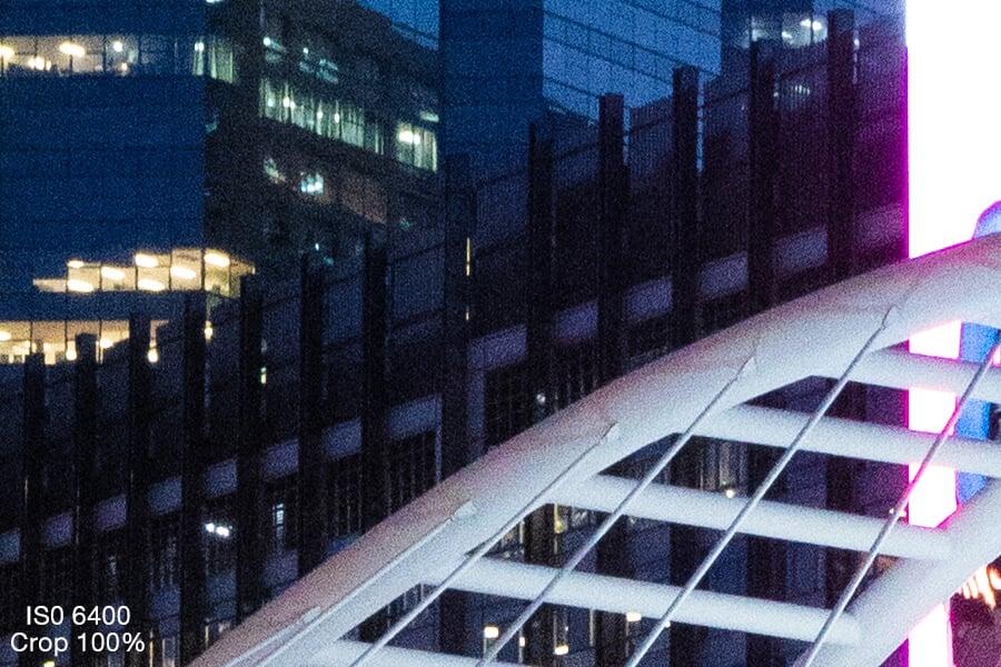 รีวิว Sony A6600 ISO 6400 test Crop