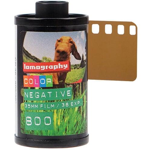 Lomography (F836C3) 800 Color Negative Film (35mm Roll Film, 36 Exposures, 3 Packs)