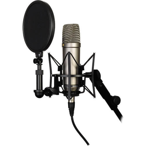Rode NT1 A Large Diaphragm Condenser Microphone Single 1