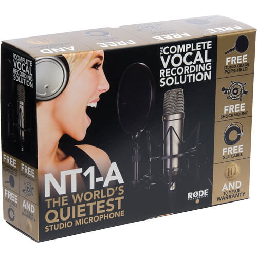 Rode NT1 A Large Diaphragm Condenser Microphone Single 3