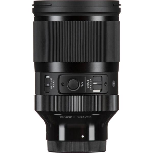 Sigma 35mm f1.2 DG DN Art Lens for Sony E 2