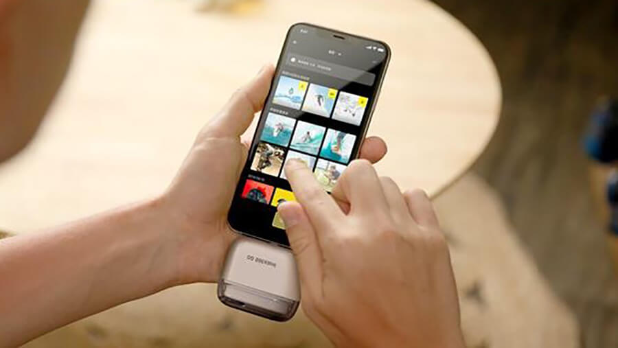 insta360 go Mobile workflow