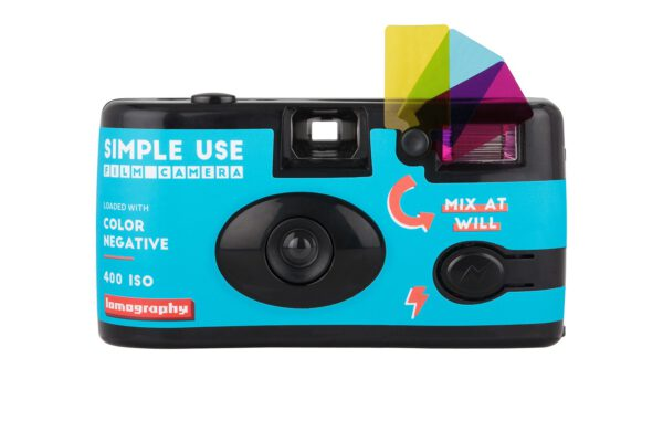 lomography simple use film camera color negative 400 front 1