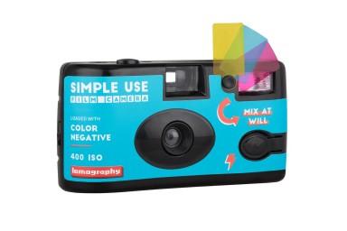 lomography simple use film camera color negative 400 quarter right 1