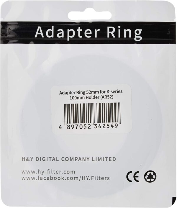Adapter Rings – K Series 100mm Holder 5