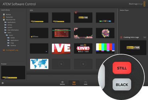 Blackmagic Design ATEM Mini HDMI Live Stream Switcher 14