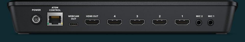Blackmagic Design ATEM Mini HDMI Live Stream Switcher 6