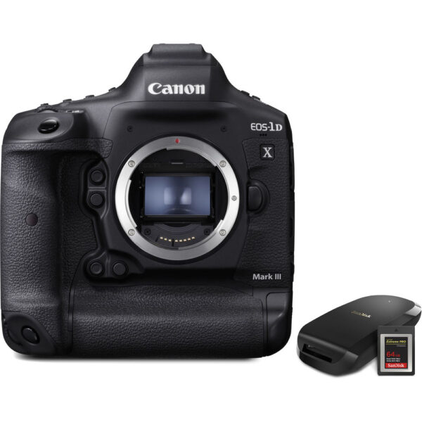 Canon EOS-1D X Mark III DSLR Camera with CFexpress