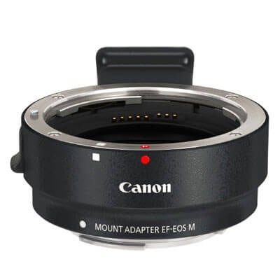 Canon Mount adapter EF EOS M Bundled w tripod collar 1