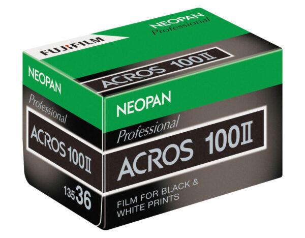 Fujifilm NEOPAN 100 ACROS II Film for Black White Prints 3