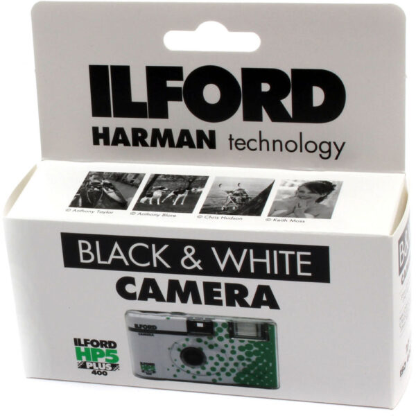 Ilford HP5 Plus Single Use Camera with Flash 27 Exposures 2