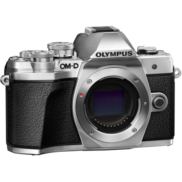 Olympus OM D E M10 Mark III Mirrorless Micro Four Thirds Digital Camera Body Only Silver 2