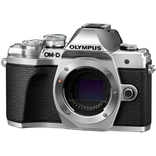 Olympus OM D E M10 Mark III Mirrorless Micro Four Thirds Digital Camera Body Only Silver3
