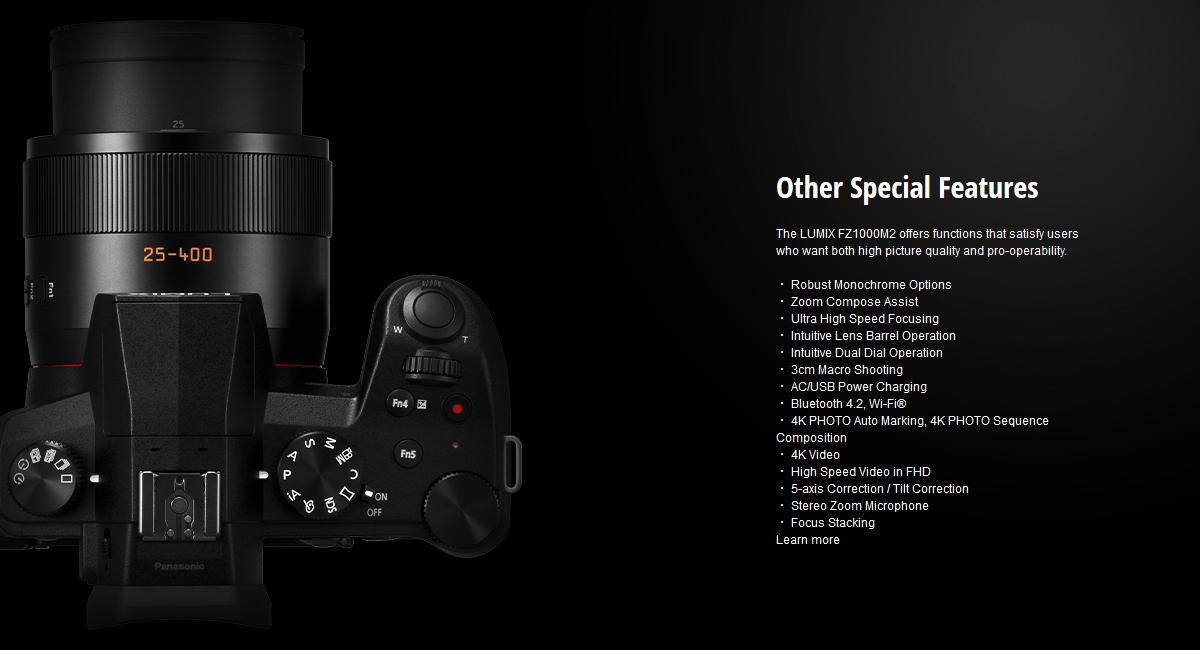 Panasonic Lumix DC FZ1000 II Digital Camera 15