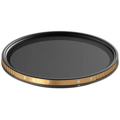 PolarPro 77mm Peter McKinnon Edition Variable Neutral Density 1.8 to 2.7 Filter (6 to 9-Stop)