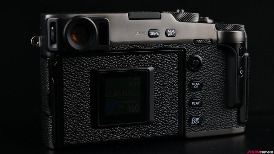 Fujifilm X-Pro 3 back