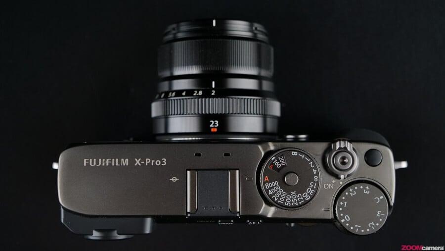 Fujifilm X-Pro 3 top plate