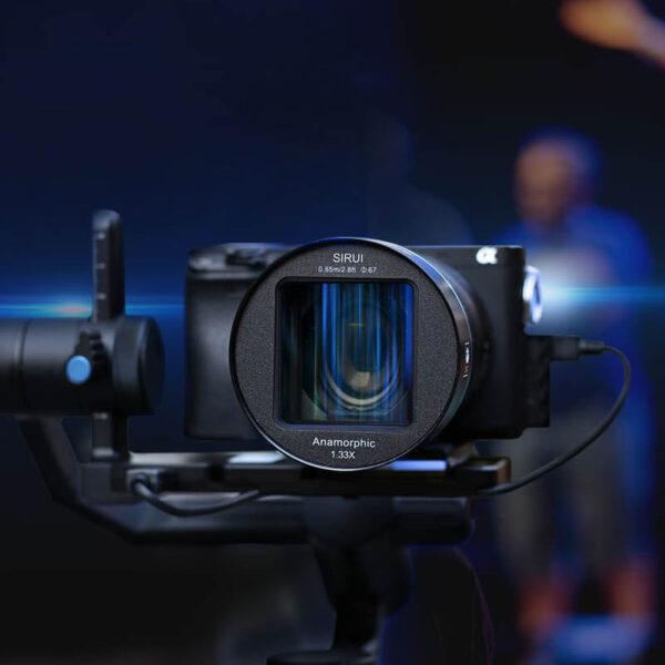 Sirui 50mm f1.8 1.33x Anamorphic 3