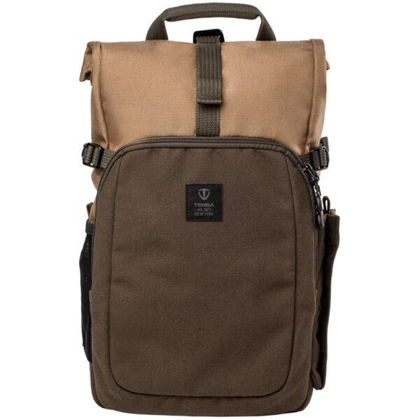 Tenba Fulton 10L Backpack Tan and Olive 2