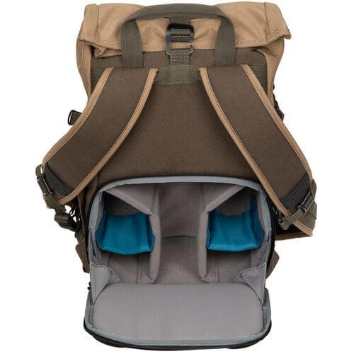 Tenba Fulton 10L Backpack Tan and Olive 4