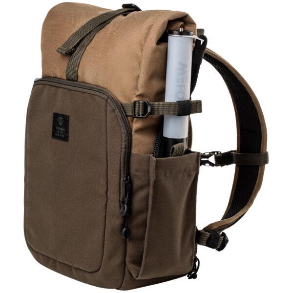 Tenba Fulton 10L Backpack Tan and Olive 6