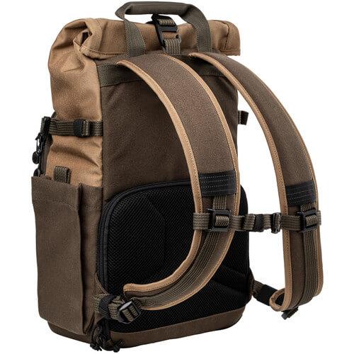 Tenba Fulton 10L Backpack Tan and Olive 7