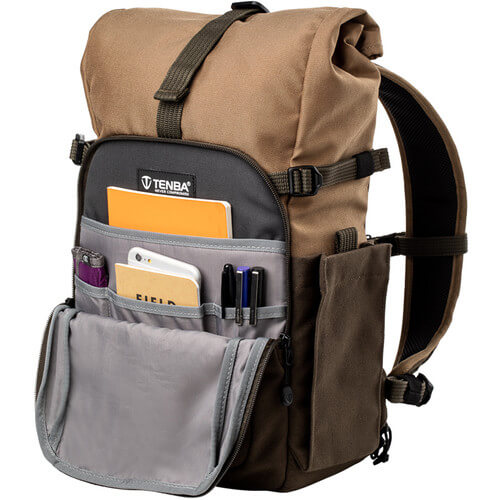 Tenba Fulton 10L Backpack Tan and Olive 8