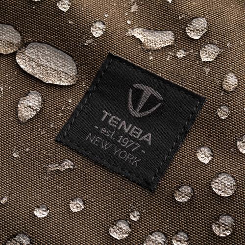 Tenba Fulton 10L Backpack Tan and Olive 9