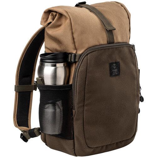 Tenba Fulton 10L Backpack Tan and Olive5