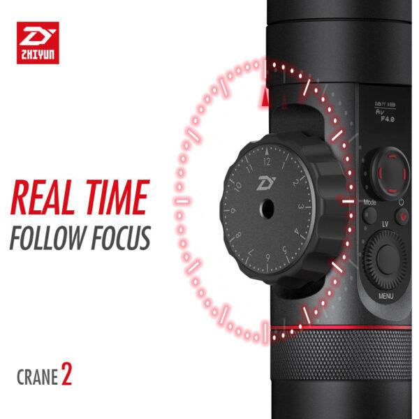 Zhiyun-Tech Crane-2 Stabilizer with Dual Handle